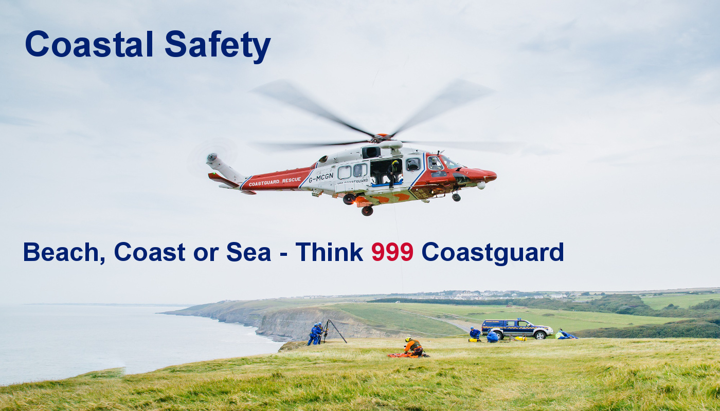 Think 999 coastguard